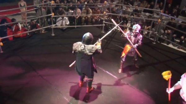 侍と騎士がガチバトル! 甲冑格闘技「アーマードバトル」国際大会が開催!