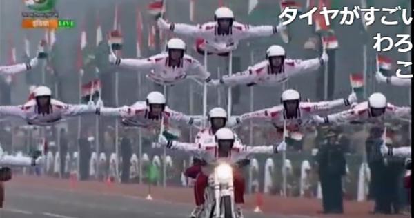 【画像集】インドの軍事パレードはやはりカオスだった!? 「ラクダ部隊最強」「これは真似できない」