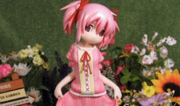 [魔法少女まどか☆マギカ]手作りでまどかの私服バージョンのフィギュアを作ってみた。