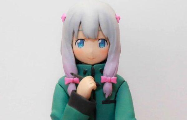 [エロマンガ先生]粘土で和泉紗霧ちゃんを作ってみた。ふともものぷにぷに感がとってもエロい。