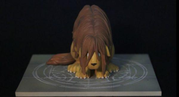 「君のような勘のいいガキは嫌いだよ」鋼の錬金術師の合成獣を粘土で作ってみた。
