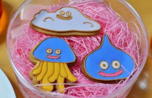 クッキーが「ドラクエ」のスライムたちに変身! いろんなスライム型クッキーを作ってみた