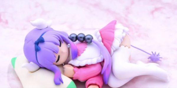 ぼへえぇぇ! 寝顔がキュートな手乗りサイズの『小林さんちのメイドラゴン』カンナちゃんを作ってみた
