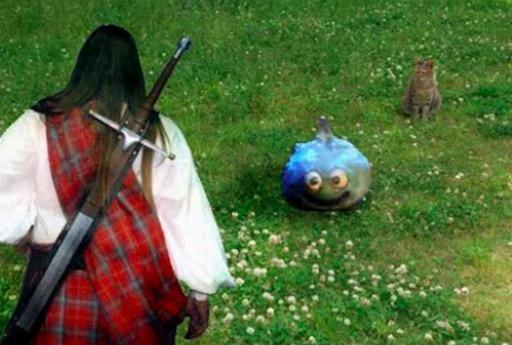『ドラクエⅢ』のモンスターがリアルに出現!? あなたは倒すことができるか