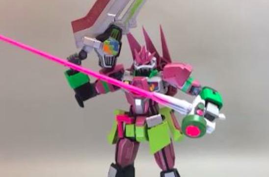 ガンプラを改造して『仮面ライダーエグゼイド』のライダーたちを作ってみた! ガシャコン武器も完全再現