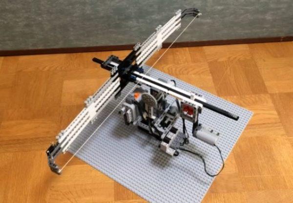 LEGOで飛び出す絵本『ウィリアム・テル』を作ってみた。LEGOの弓矢がリンゴを射抜く!