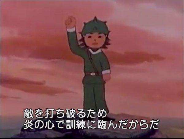 「敵を打ち破るため炎の心で訓練に臨め」北朝鮮の軍事教育アニメを字幕付きで全編配信中