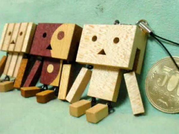 木材でダンボーのキーホルダーを作ってみた。木の温かみを感じるオシャレなダンボー