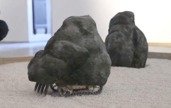 石が動く? 波紋も描けるリアルな『石庭ラジコン』を作ってみた