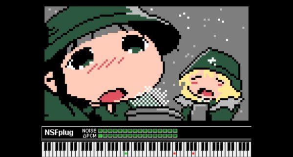 『少女終末旅行』OPをファミコン音源で演奏してみた。ポップな曲調が懐かしく可愛い