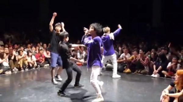 アニソンに合わせて即興で踊ってバトルする『あきばっか~の』が熱い! ハイレベルのダンスに観客も大興奮