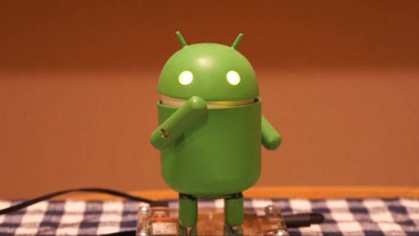 Androidの『ドロイドくん』が妖怪ウォッチ『ようかい体操第一』を踊ってみた! ヌルサクな動きが超かわいい