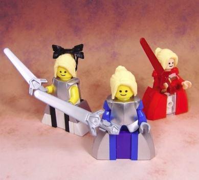 LEGO『Fate』のキャラを作ってみた。アルトリア、ネロ、セイバーリリィ、宝具も忠実に再現!