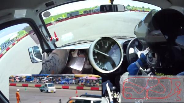 マシンの限界を超えろ! モータースポーツ『ジムカーナ』を軽トラで本気でやってみた