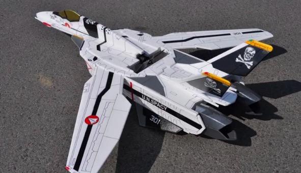 『マクロスゼロ』VF-0Sのラジコンをスチレンボードで自作! 自由に、華麗に空を舞う!