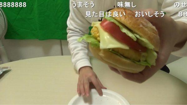 うまい棒を材料にテリヤキバーガーを作ってみたら、ただの肉なし豆腐バーガーになった件