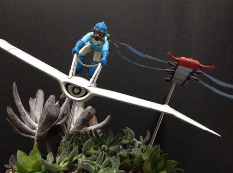 『風の谷のナウシカ』のワンシーンを再現! 本物の植物使って腐海のジオラマを作ってみた