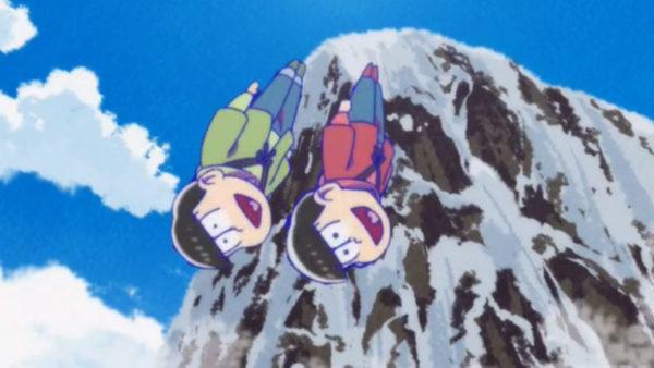 おそ松&チョロ松、1年を良い年にするべく崖から身投げ!? ニコ生コメントと振り返る『おそ松さん』(2期)第13話盛り上がったシーン