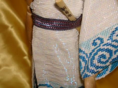 『銀魂』ビーズで銀さんの着物を織ってみた! 模様も見事に再現