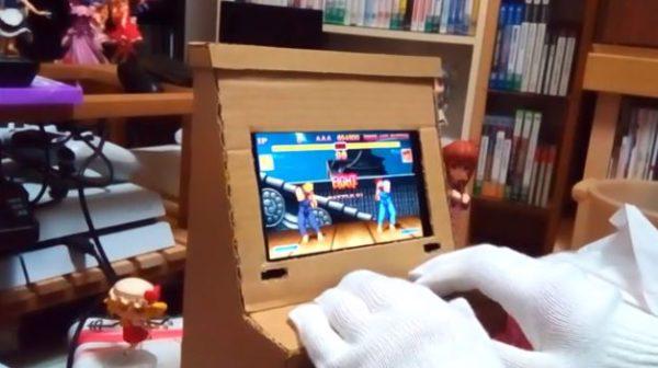 話題の『Nintendo Labo』を先取り? ダンボールで筐体風Nintendo Switchスタンド作ってみた