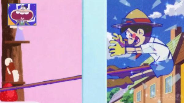 カラ松が演じるピノキオは股間の枝が無限に伸びる。『おそ松さん』(2期)第20話盛り上がったシーン