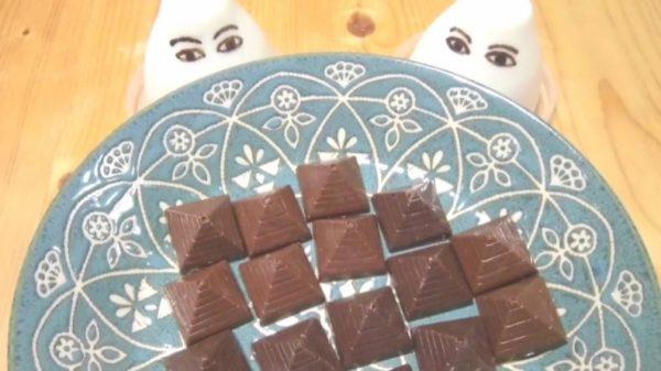 メジェド様が物欲しげに見ている……『Fate/Grand Order』のチョコ礼装『ナイルの恵み』を作ってみた