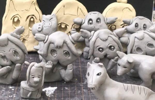 ボブネミミッミのディンゴを粘土で作ったら、ボブ子が興味津々に! 「知らなーい」なんて、もう言わせないクオリティ
