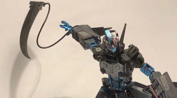 ガンプラを改造して仮面ライダーアマゾンネオに! オルフェンズ仕様の武器がド迫力「アマゾンライダーここにあり」