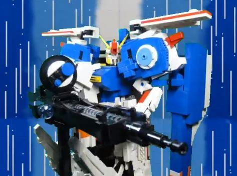 『ガンダム・センチネル』Ex-Sガンダムをレゴブロックで作ってみた。3機のコアファイターの合体機構まで再現する圧倒的完成度に胸熱