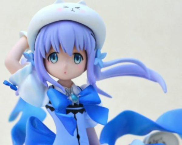 「ご注文は魔法少女ですか?」ごちうさ・魔法少女チノをディテールまでこだわって作ってみた。風になびく青い髪とリボンにぴょんぴょんが止まらない