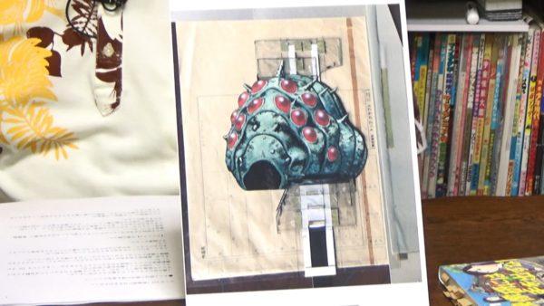"""『風の谷のナウシカ』王蟲の未公開セル画が""""ゴミの中""""からほぼ完全な状態で発見される"""