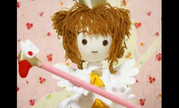 カードキャプターさくら2期OPを手縫いの人形でアニメ化。世界観とマッチする、ぬくもり溢れる可愛い人形に「みんなのうたを思い出す」
