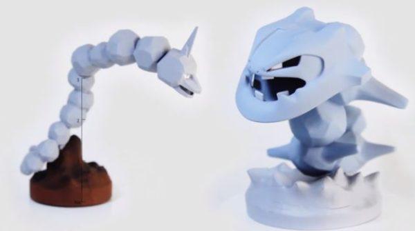 『ポケモン』イワーク&ハガネールを3Dプリンターで製作! 「立体ポケモン図鑑」未発売モデルを自力で補完するポケモン愛に「よく作ったなあ…」