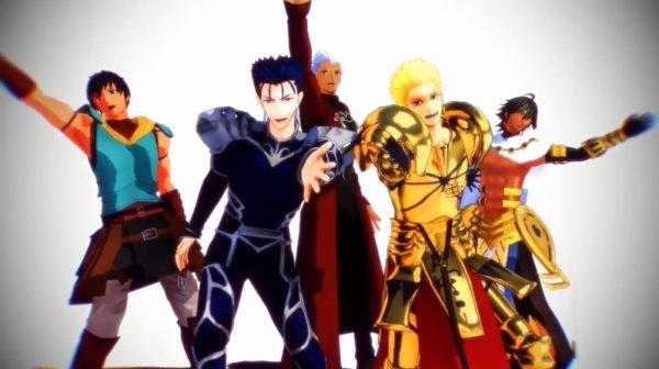 """『Fate』イケメン英霊5人組が""""踊ってみた"""" ファラオ・ギル・エミヤ…豪華メンバーの激しいダンスに「人選最高です」の声"""