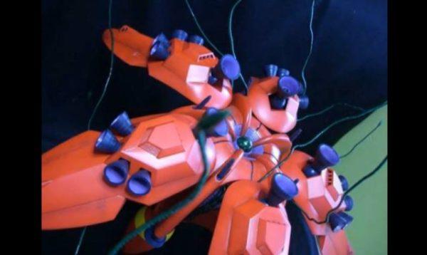 """『ガンダムF91』ラフレシアを驚異のフルスクラッチ! 1/100サイズで再現された""""ロナ家、千年の夢""""の迫力に「こりゃあすげえ!」"""