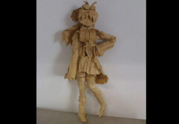 『まどマギ』佐倉杏子を折り紙で作ってみた ハサミ不使用・56等分の蛇腹・完成まで15時間かかる超絶クオリティに「手先器用すぎやろ…」