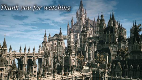 『Bloodborne』の世界にありそうな古都をマインクラフトで作ってみた 広大でリアルすぎる建造物の数々に「凄すぎて啓蒙高まる」