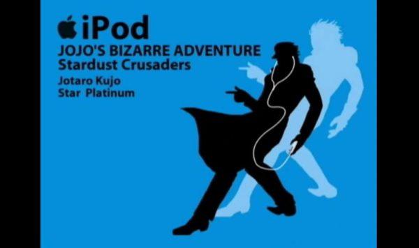 """『ジョジョの奇妙な冒険』キャラをiPodCM風に描いてみた 躍動感ありすぎな""""ジョジョ立ち""""に「グレートですよ、こいつはァ!」"""