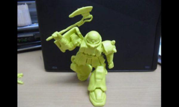 『機動戦士ガンダム』ザクをねりけしで作ってみた 本気すぎる精巧な仕上がりに「精度がおかしいだろw」