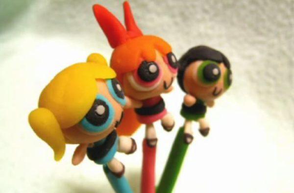 """お砂糖、スパイス、素敵ものをいっぱい&""""ケミカルX""""で作られた女の子たち、覚えてますか? 小麦粘土で「懐しのガールズヒーロー」を作ってみた"""