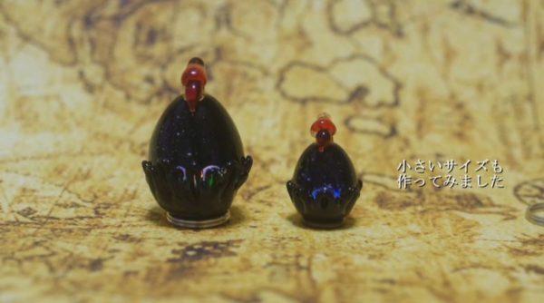 """""""深淵を覗くと見つめ返す""""卵を作ってみた! ニーチェの言葉に着想を得たガラス細工に厨二心が刺激されるッ!!"""