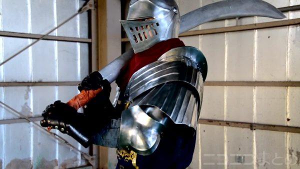 """( T)「貴公…良い装甲だな…」ソラールさんも絶賛しそうな『DARK SOULS』上級騎士の肩鎧を鉄で作ってみた。ガチすぎる製造工程はまさに""""アンドレイ""""との声"""