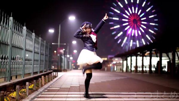 ツインテ美少女が最高のロケーションと共に華麗なダンスをお届け! ツンと冷たい季節も好きになっちゃいそう【踊り手:足太ぺんた】