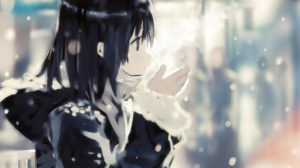 ギュッと抱きしめてあげたい…! 雪の中にたたずむ美少女のイラストまとめ
