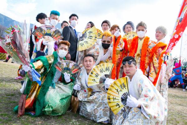 【超ド派手】北九州市の成人式に行ってみたら予想通りヤバかった! 豪華絢爛な衣装の新成人たちの写真をお届け
