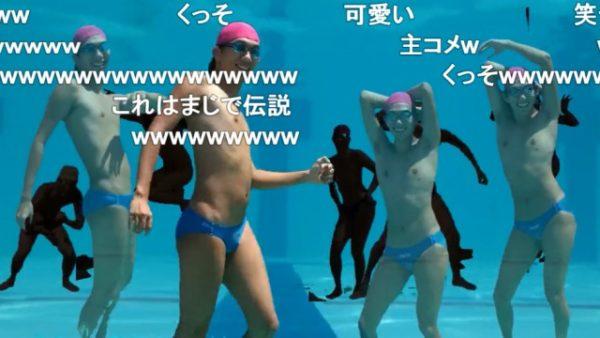 アニメ『Free!』ED「SPLASH FREE」の実写再現がカオス 謎の水着男が一人で全キャラを演じる姿に「お前最高だよ」の声