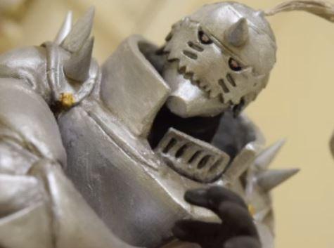 """まさに""""粘土の錬金術師"""" 『鋼の錬金術師』重厚感溢れるアルフォンス・エルリックを作ってみたよ、兄さん!"""