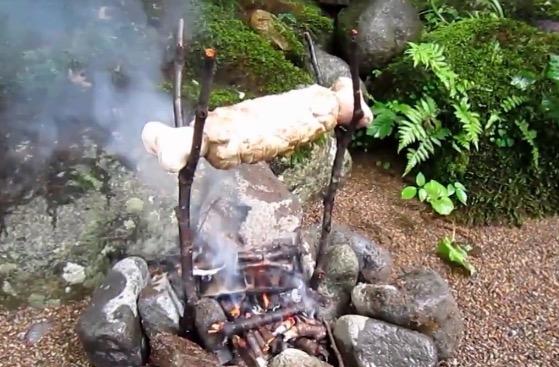 ウルトラ上手に焼けましたー! モンハンのこんがり肉を再現してみた