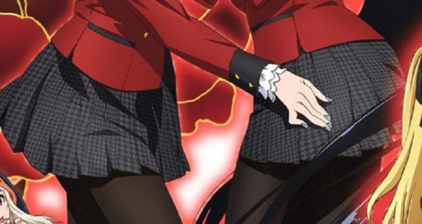 夏アニメ『賭ケグルイ』の制服に対する異常な拘りに気付いてしまった。「複雑な柄を意味なく正確に描いてキレイに動かしてる。狂ってる」