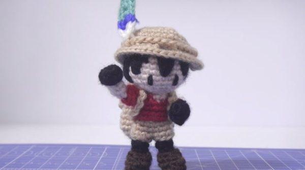 サンドスターの奇跡!? フワフワかわいい『けものフレンズ』かばんちゃんを毛糸で編んでみた